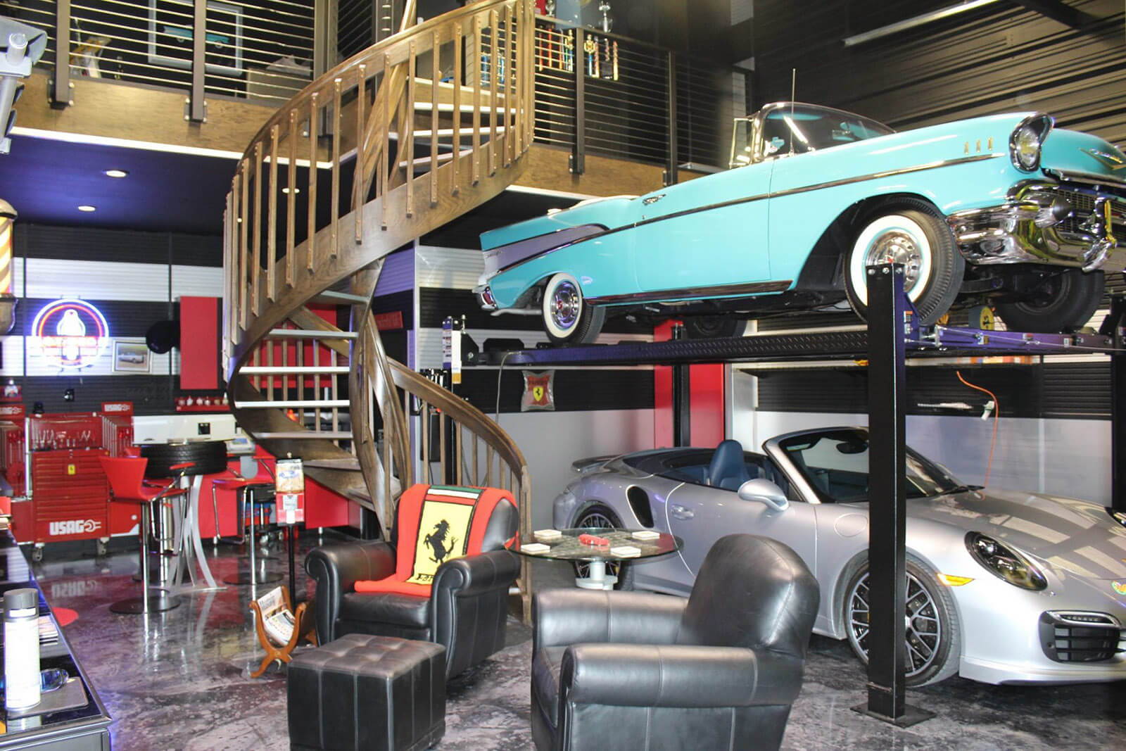 Unique And Unlike Any Other Facility Garages Of Texas Is The Garage Man Cave For All Your Toys